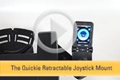 Quickie Retractable Joystick Mount