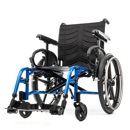 QUICKIE QX Lightweight Folding Wheelchair